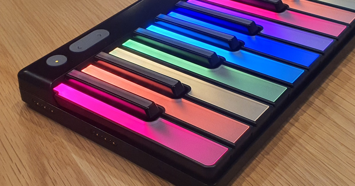 Lumi Keys review: Like 'Guitar Hero' but for learning the actual piano