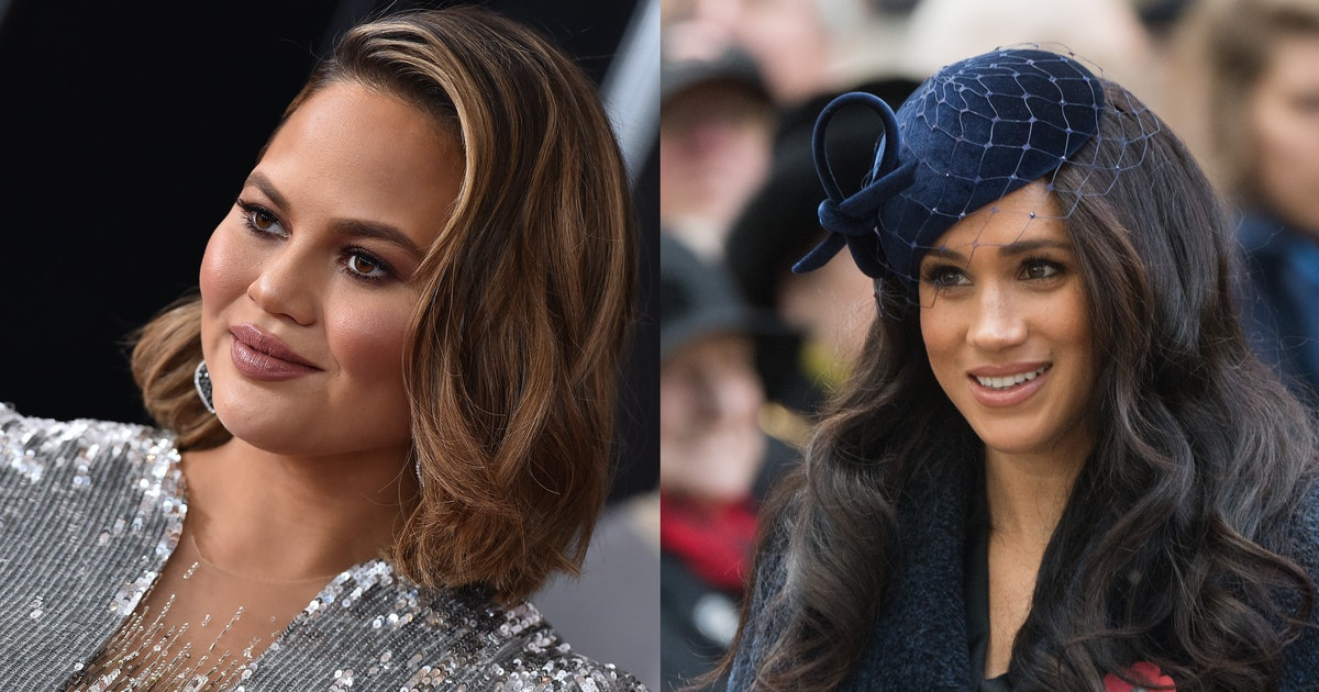 Chrissy Teigen Shared The Deeply Personal Reason She Worries About Meghan Markle