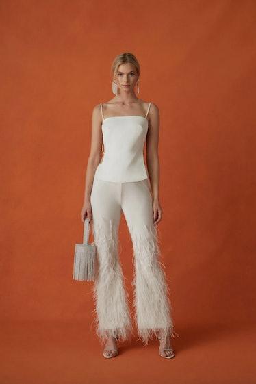 Karis Feather Pants
