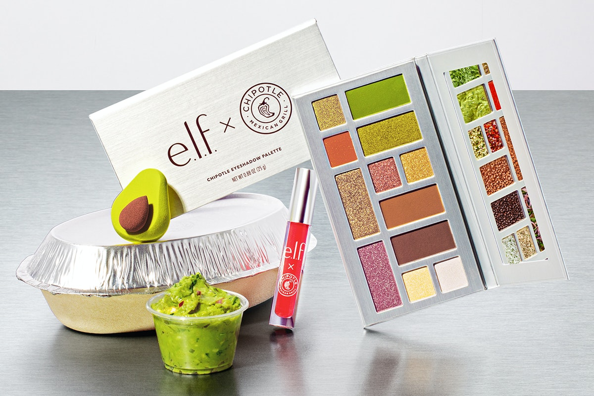 The Chipotle makeup collection.