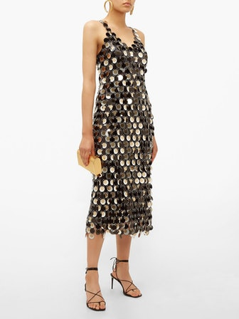 Sequinned Chainmail Dress