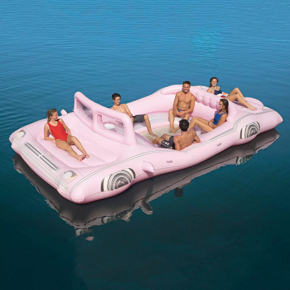 Sam's Club's Retro Pink Limo Island Float will have you speeding into the summer.