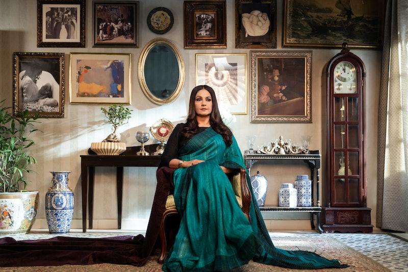 Pooja Bhatt in Bombay Begums via NETFLIX MEDIA CENTER