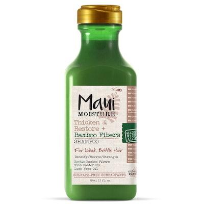 Maui Moisture Thicken & Restore + Bamboo Fibers Shampoo, 13 Oz.