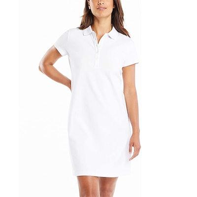 Nautica Short Sleeve Cotton Polo Dress