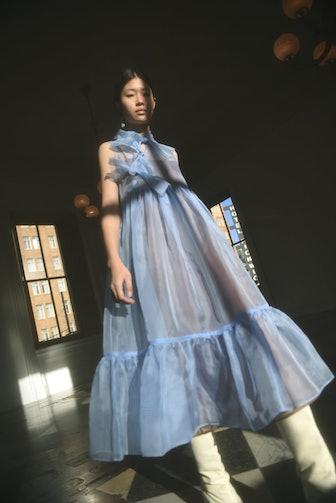 Mae Silk Organza Dress