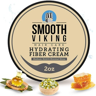 Smooth Viking Beard Care Hydrating Fiber Cream for Styling