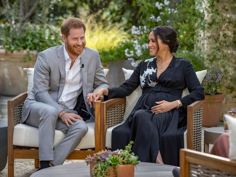 Prince Harry's Oprah Interview Suit Is A Tribute To Archie