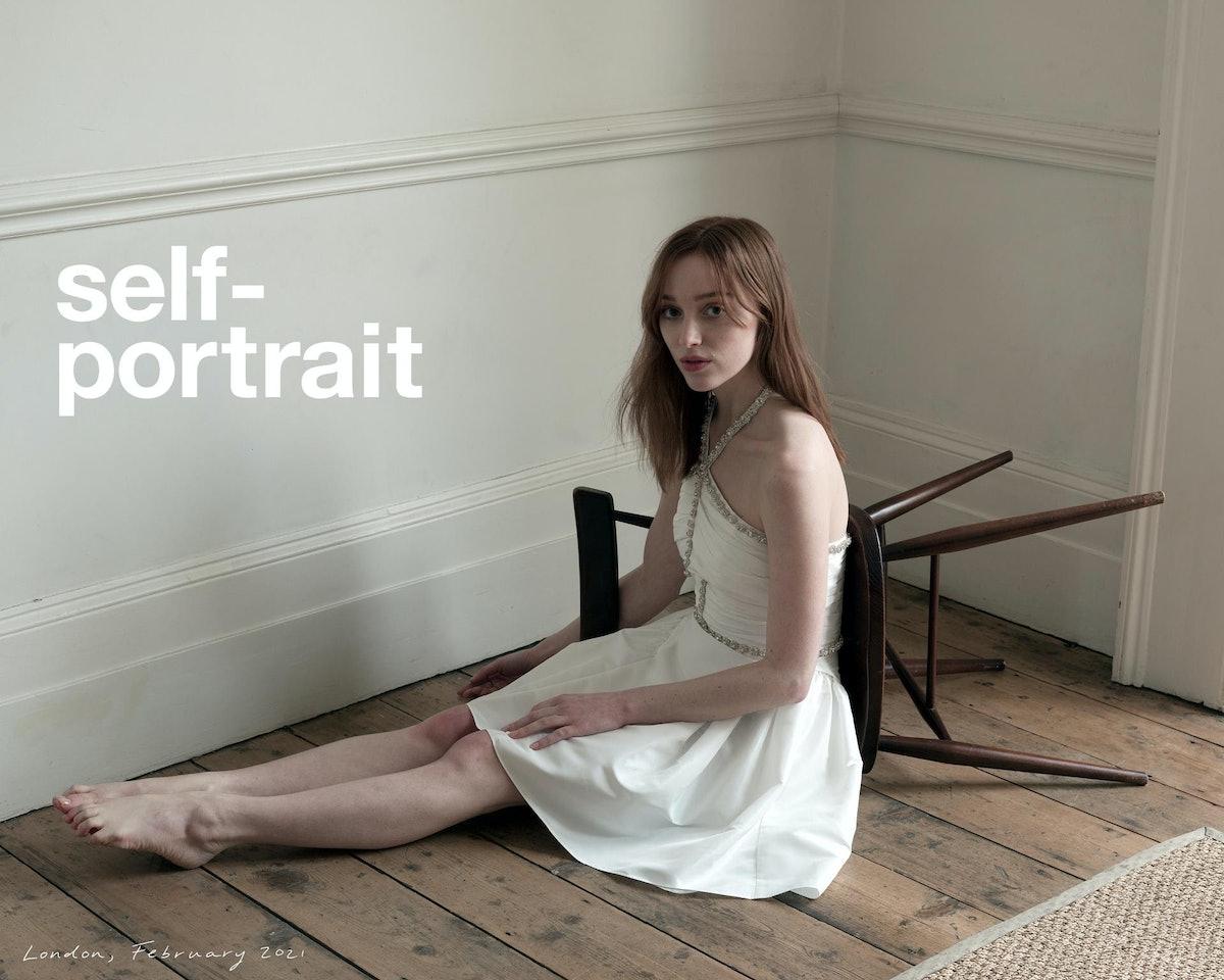 Phoebe Dynevor's Self-Portrait campaign