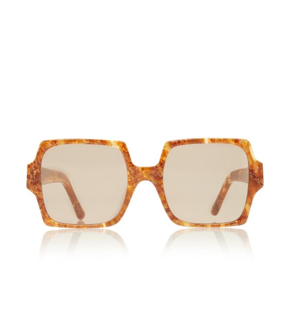 TV Eyes Oversized Square-Frame Acetate Sunglasses