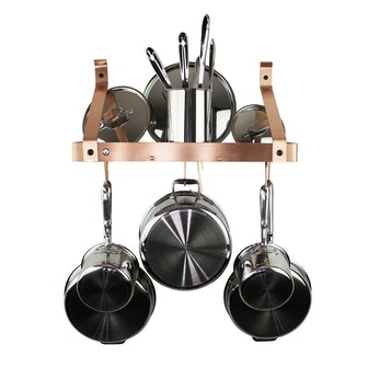 Enclume Brushed Copper Gourmet Bookshelf Rack