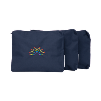 Zippered Pouch Set of 3