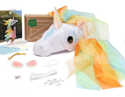 Glowing Horn Unicorn Costume