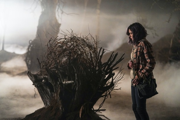 Xaria Dotson as Evie in The Birch Season 2