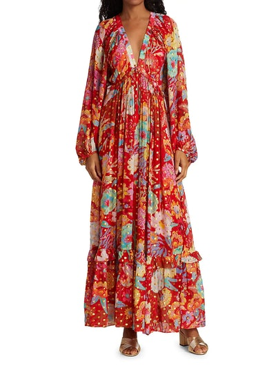 Hudson Floral Maxi Dress