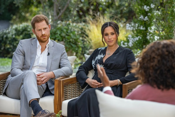 Prince Harry and Meghan Markle sit down with Oprah Winfrey.
