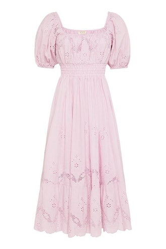 Capulet Broderie Anglaise Soiree Dress in Lilac