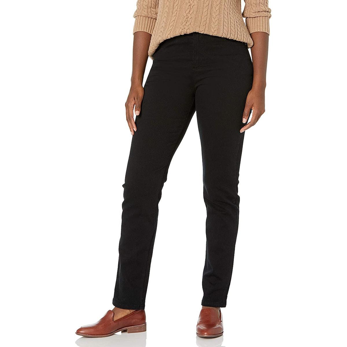 Gloria Vanderbilt Amanda High-Rise Tapered Jeans