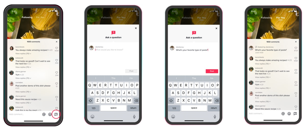 TikTok's Creator Account allows you to access special features like the new Q&A update.