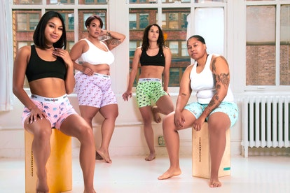 Lucky Skivvies offers gender-neutral boxer shorts.