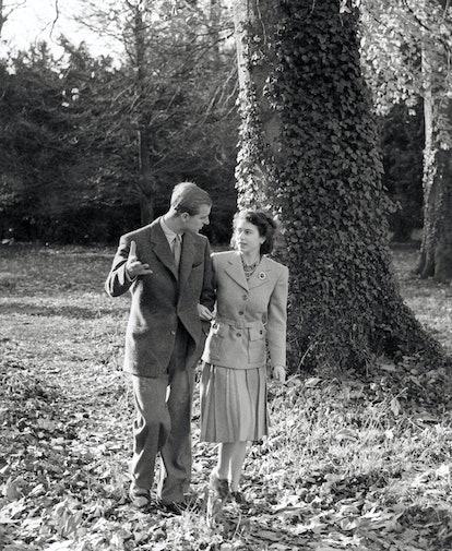 Princess Elizabeth and The Duke of Edinburgh on their honeymoon