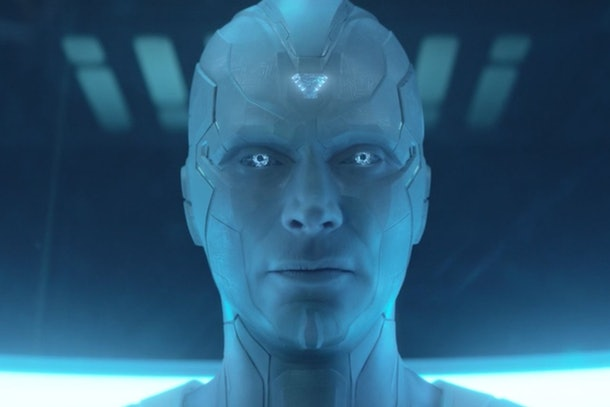 Paul Bettany as White Vision in WandaVision