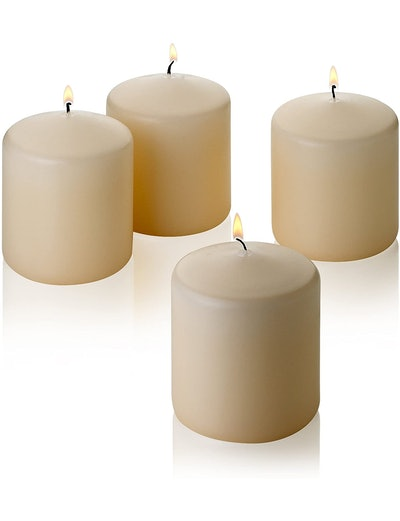 Light In The Dark Pillar Scented Candles (4-Pack)