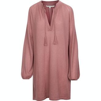 Farrah Plunging Neckline Cashmere Dress