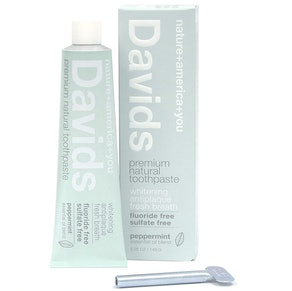 Davids Natural Toothpaste, 5.3 Oz.
