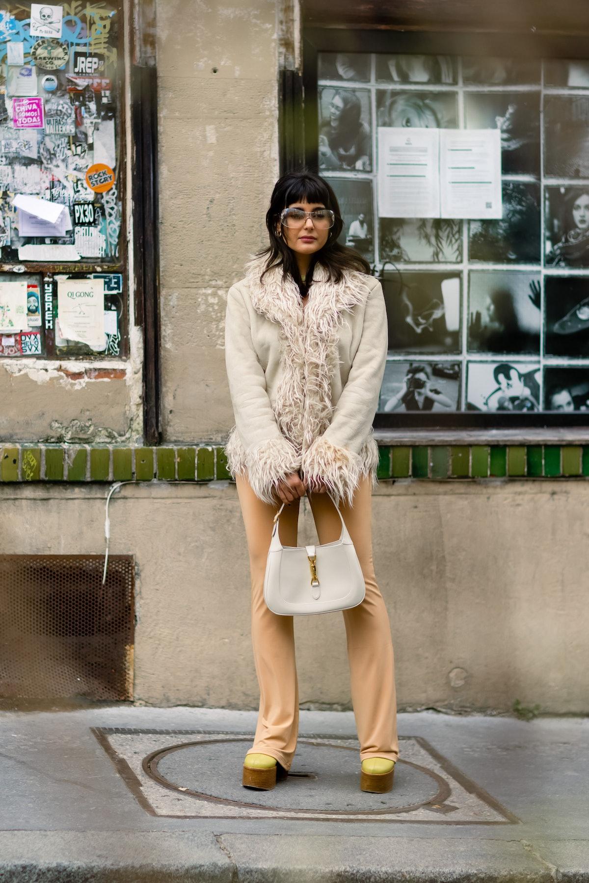 Paris Fashion Week Fall/Winter 2021 Street Style