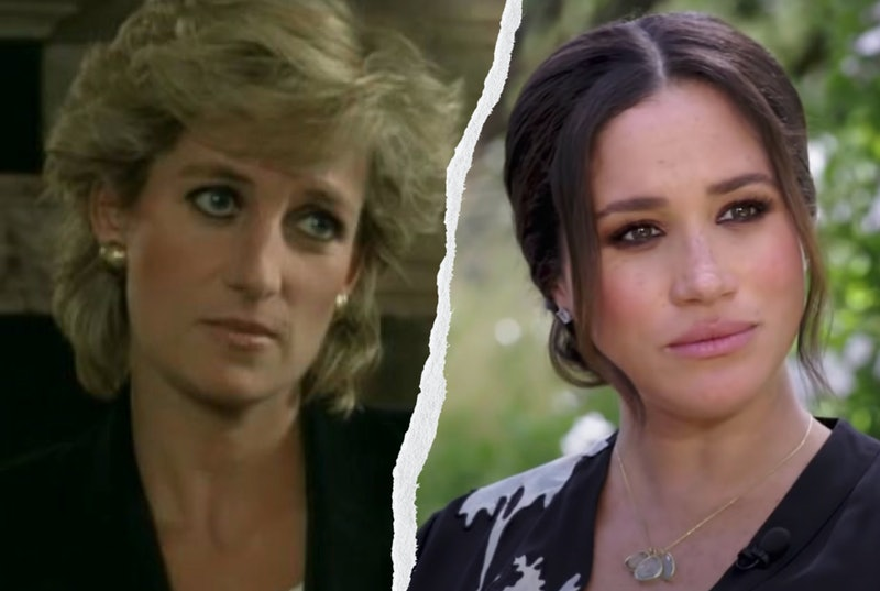 Diana's 1995 'Panorama' had a number of similarities to Meghan & Harry's Oprah talk.