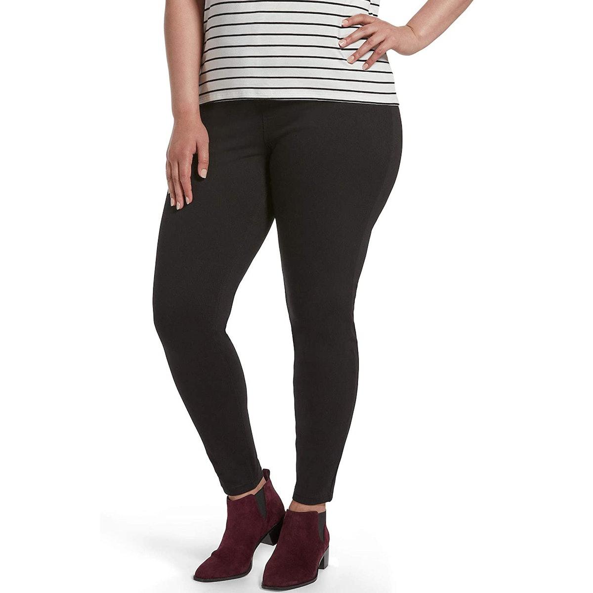 HUE Ultra-Soft High-Waist Denim Leggings