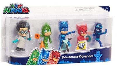 PJ Masks Collectible 5-Piece Figure Set