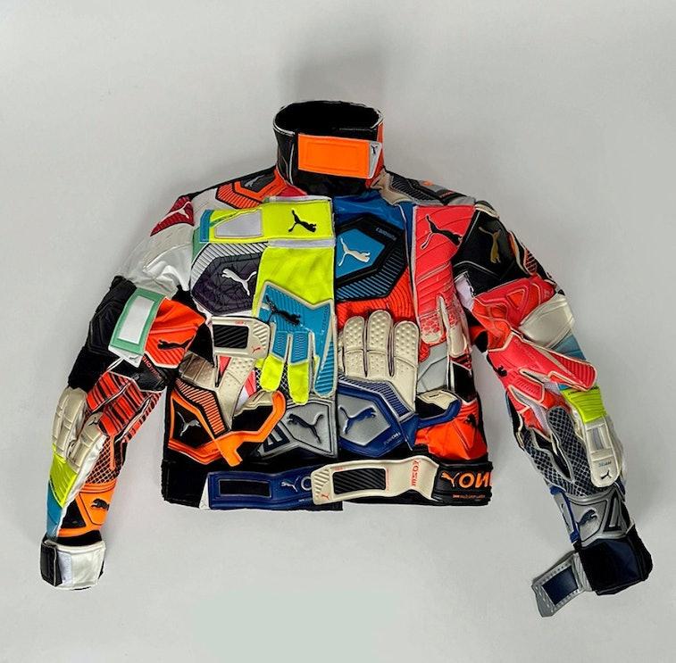 Nicole McLaughlin Puma goalie glove jacket