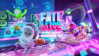 fall guys ultimate knockout season 4 skins alien 4041
