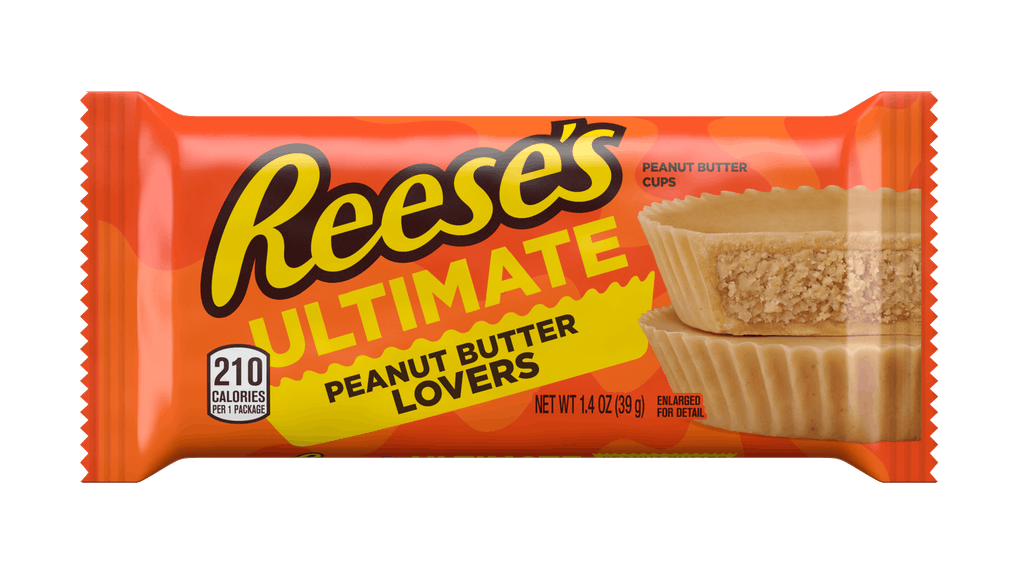 Reese's Ultimate Peanut Butter Lovers Cups have zero chocolate.