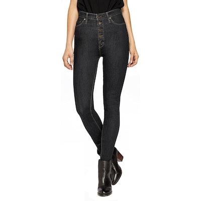 Hybrid & Company High-Waist Skinny Jeans