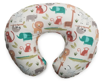 Boppy Original Feeding & Infant Support Pillow In Neutral Jungle Animals