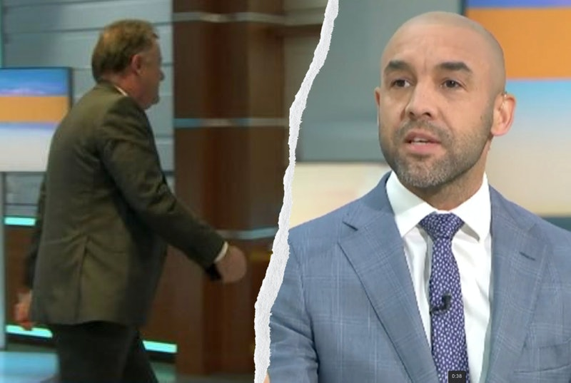 Piers Morgan walked off the set of 'Good Morning Britain' when Alex Beresford confronted him about Meghan Markle
