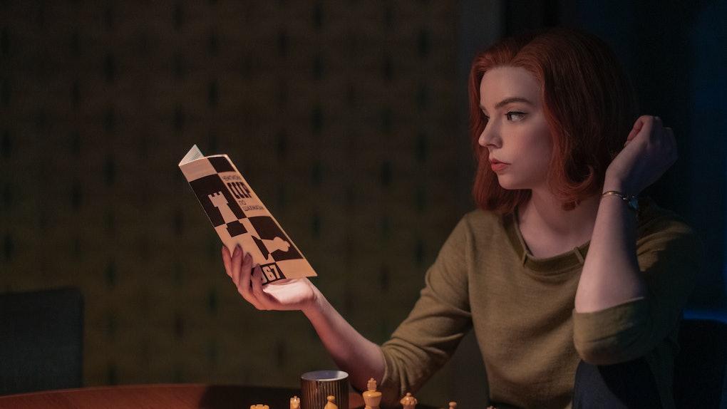 Anya Taylor-Joy as Beth In The Queen's Gambit