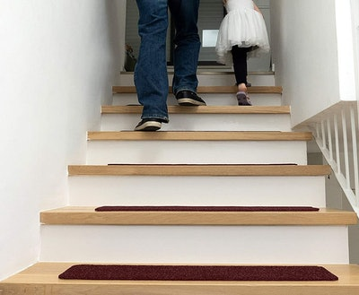 EdenProducts Non-Slip Carpet Stair Treads (15-Count)