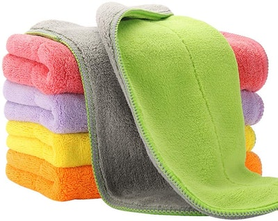 HOUSE AGAIN Thick Microfiber Cleaning Cloths
