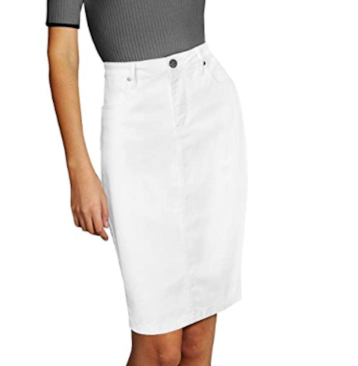 Lexi Perfect Fit Stretch Denim Skirt