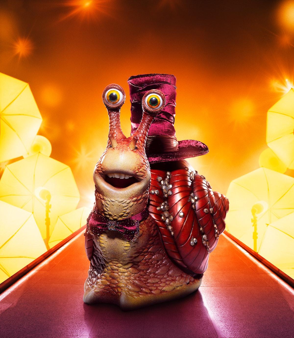 Snail on The Masked Singer
