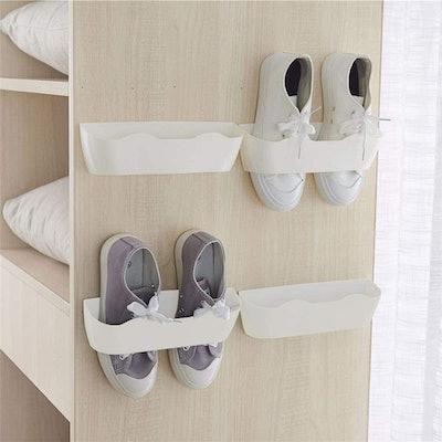 Yocice Wall Mounted Shoes Rack (4-pcs)