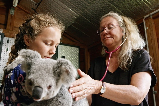 'Izzy's Koala World' is a documentary about a young girl and the koala she's rehabilitating.