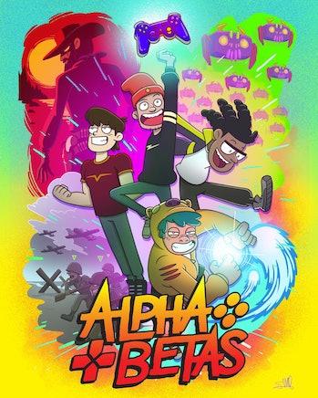alpha betas poster