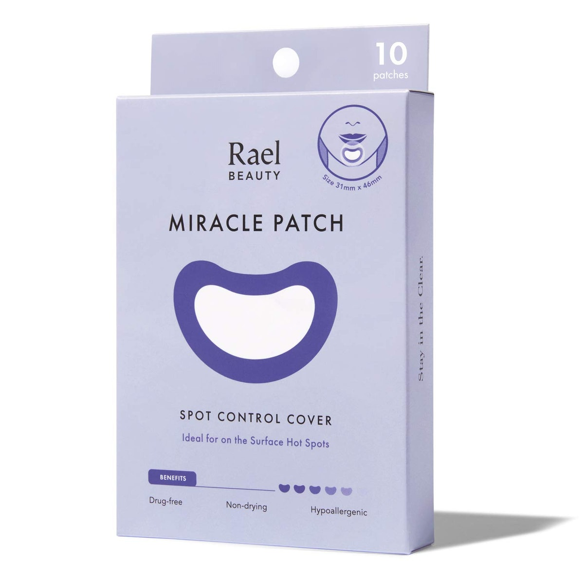Rael Acne Healing Patches (10 Count)
