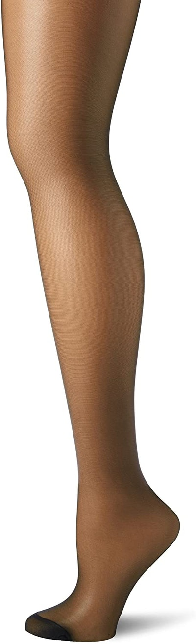 Hanes Control Top Reinforced Toe Silk Reflections Panty Hose
