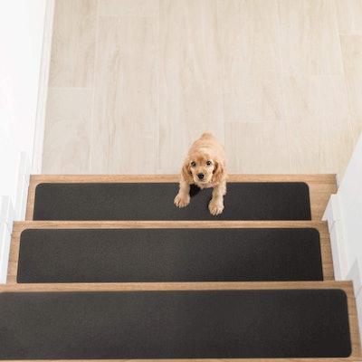 Delxo Non-Slip Carpet Stair Treads (14-Count)